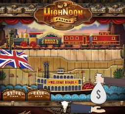 High Noon Casino Blackjack No Deposit Bonus  plays-the-cards.com